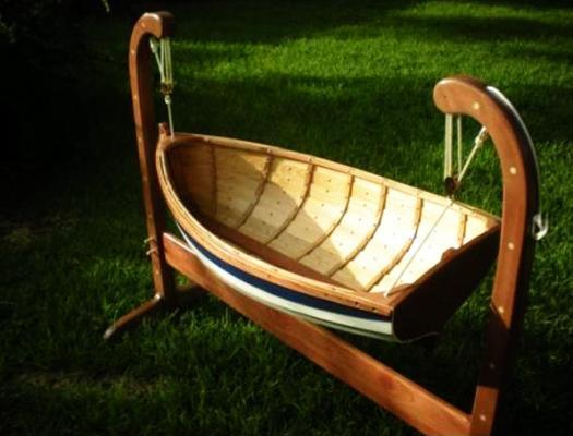 Wooden Baby Crib Handmade Furniture Design For Modern Nursery Decor