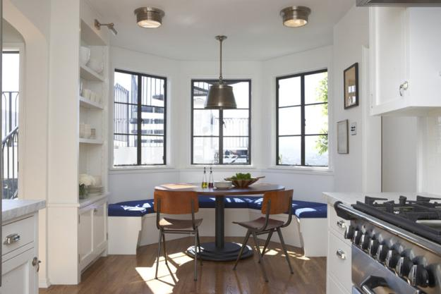 15 Bay Window Designs and Decorating Ideas Creating Pretty Modern ...