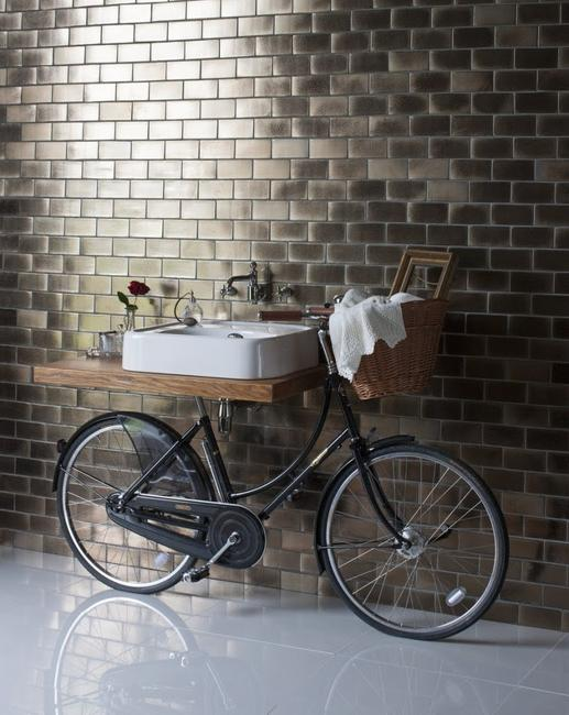 Bike Bathroom Sink Ideal For Modern Bathroom Design In