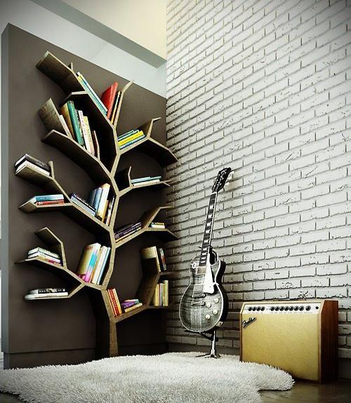 Book Tree For Modern Wall Decorating
