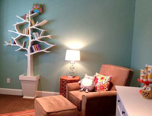 Tree Bookcases And Shelves Eco Style Comes With Space Saving Ideas