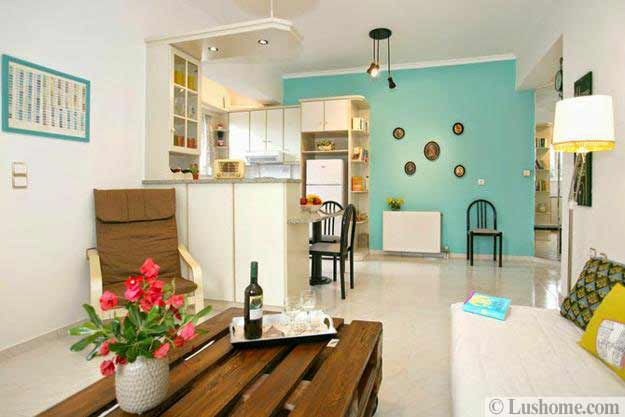 Perfect Creative Accents, Bright Room Colors And Wall Painting Ideas For Modern  Home Decorating
