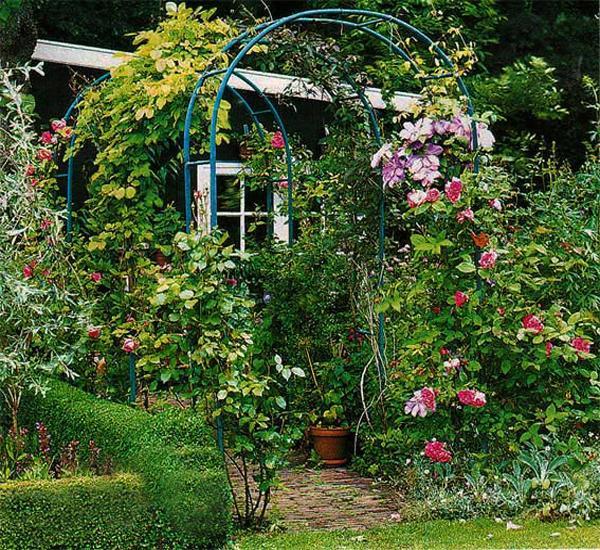 Garden Art From Junk Unique