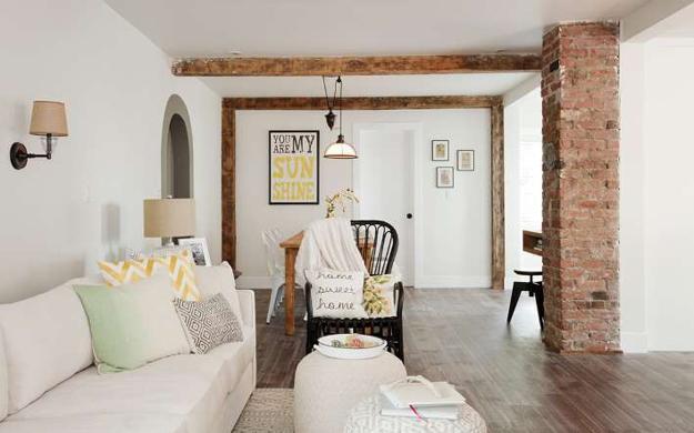 White Decorating Ideas Brighten Up Old Cottage Renovation