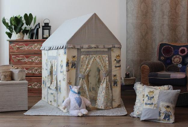 2 Beautiful Fabric Playhouse Design Ideas For Girls And Boys
