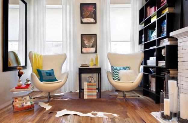 Designer Chairs Swan And Egg Bringing Elegant Past Of Retro Styles Into Modern Interior Decorating