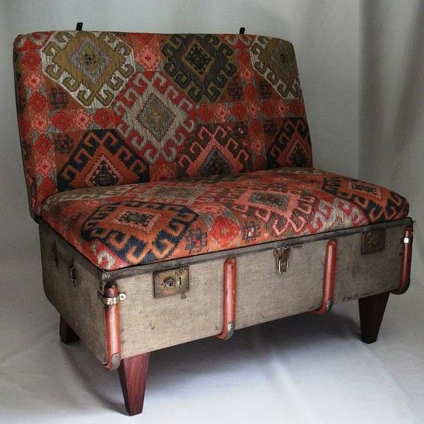 Recycling Vintage Suitcases For 25 Beautiful Chairs With