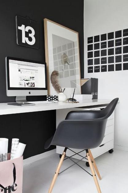 Eames Chairs, Comfortable And Modern Interior Design With