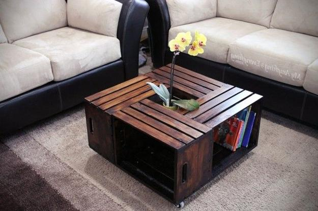 table recycled materials. Recycling Wood Pallets For Coffee Table With Storage Recycled Materials