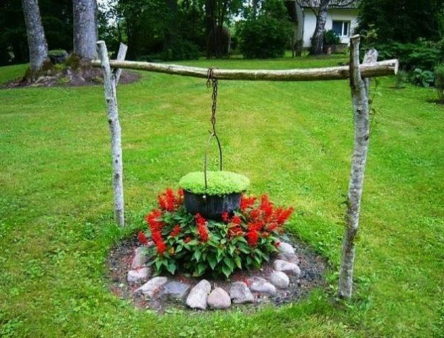 15 Small Handmade Yard Decorations for Creative Garden Design on Backyard Garden Decor id=23155