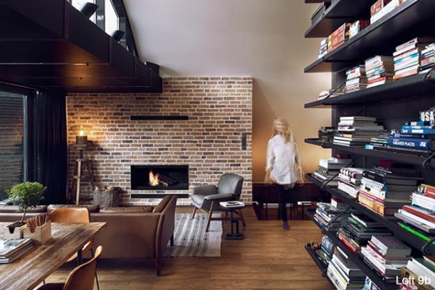 Beautiful loft living ideas modern loft conversion design for Finestre a soffitto