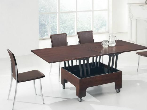 Modern Coffee Table Transforming Into Dining
