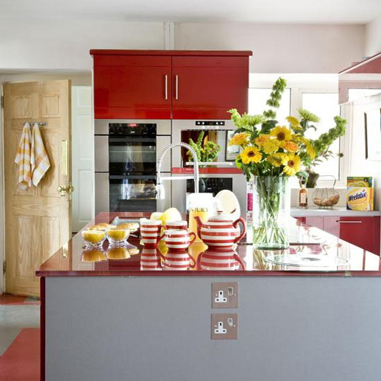 Contemporary Red Kitchen: 25 Modern Ideas To Make Kitchen Design Dynamic And Unique