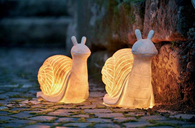 nature inspired lighting. Slugs, Nature Inspired Outdoor Lights For Yard Landscaping And Garden Design Lighting D