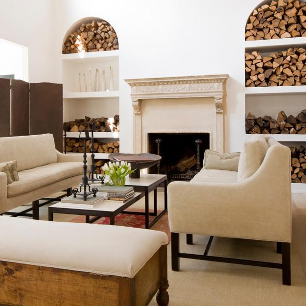 Creative Interior Design: Creative Interior Design With Wood, 25 Firewood Storage
