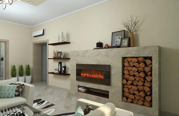 Creative Interior Design With Wood 25 Firewood Storage