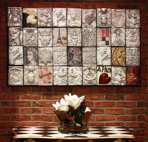 Modern Wall Decorating Ideas, Decorative Wall Panel Designs Made of ...