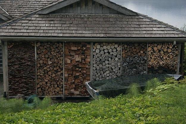 Creative Firewood Storage Ideas Turning Wood Into