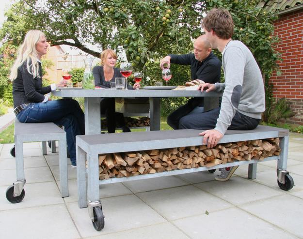 Miraculous Creative Firewood Storage Ideas Turning Wood Into Beautiful Dailytribune Chair Design For Home Dailytribuneorg