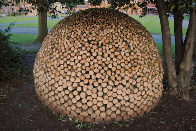 Attractive Firewood Storage Ideas And Yard Decorations