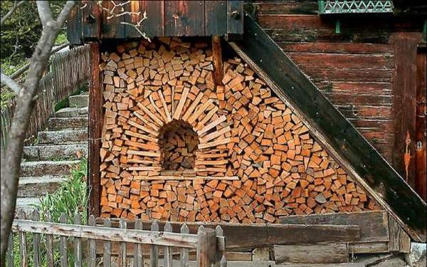 Creative Firewood Storage Ideas Turning Wood Into
