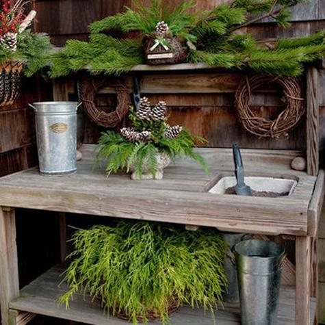 25 Beautiful Potting Bench Design Ideas Creating