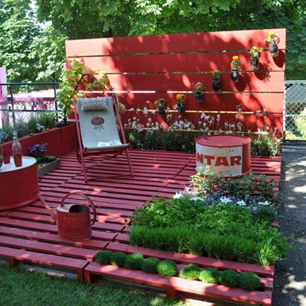 Handmade Outdoor Furniture Design Ideas