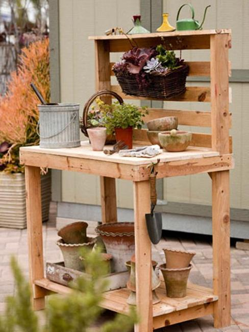 Reuse And Recycle Salvaged Wood Pallets
