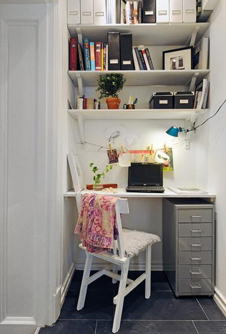 22 Space Saving Storage Ideas For Elegant Small Home Office Designs