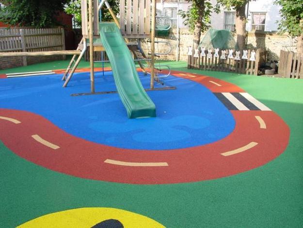 Best Surfacing Fun Ideas For Kids Playground Design