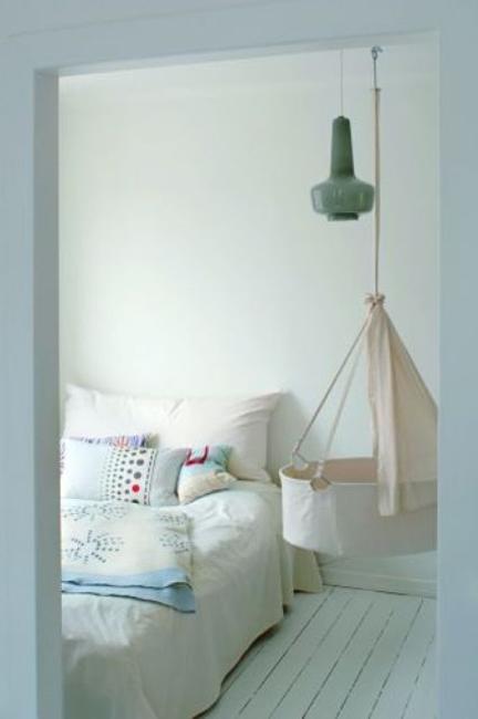 Hanging Bassinet Nursery