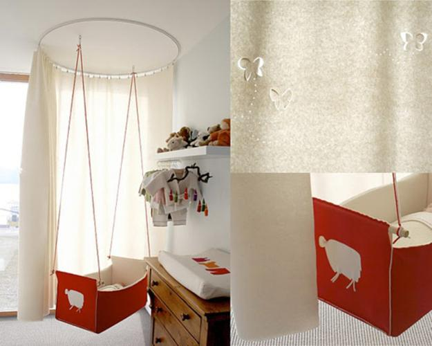 35 Suspended Cradles, Modern Baby Room Ideas and ...