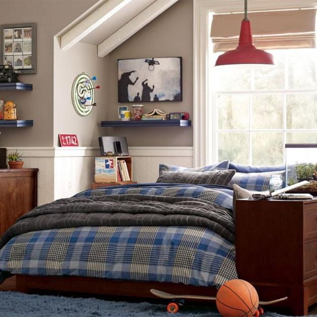 22 Teenage Bedroom Designs, Modern Ideas For Cool Boys Room Decor