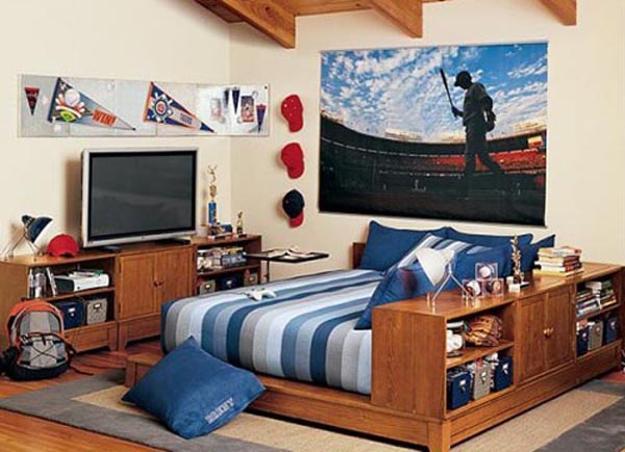 22 Teenage Bedroom Designs, Modern Ideas For Cool Boys Room ...