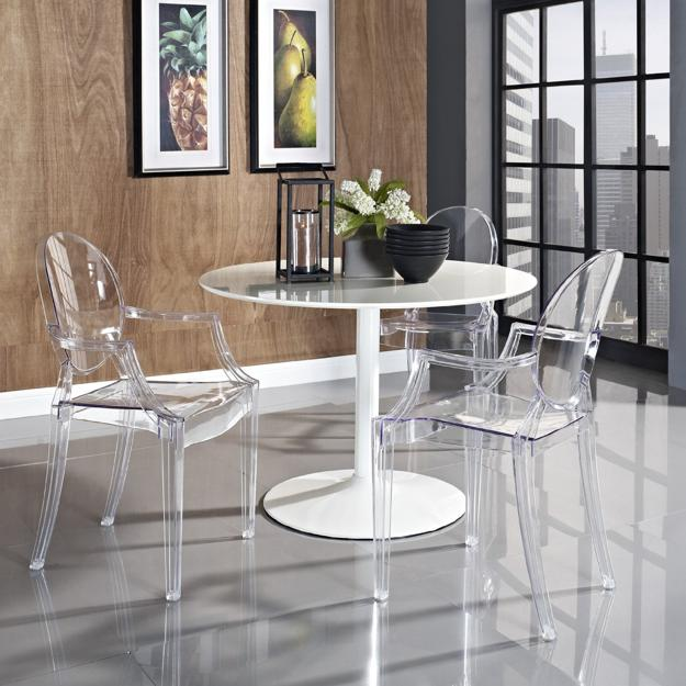 modern tables and chairs for interior design in retro styles