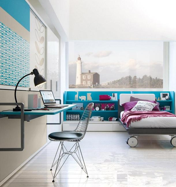22 Ideas to Use Turquoise Blue Color for Modern Interior ...