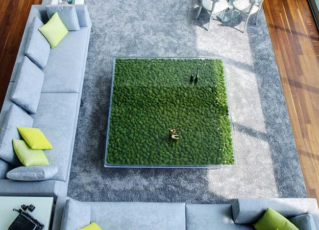 unusual modern coffee tables with glass top