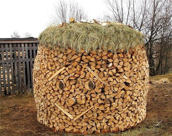Beau Creative Firewood Storage Ideas Turning Wood Into Beautiful Yard Decorations