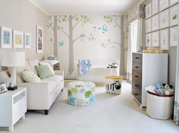 Smart Baby Room Design And Modern Nursery Decorating Ideas