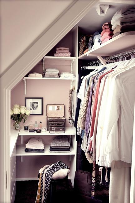 Small Spaces For Storage And Closet Design