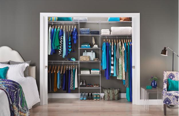 How To Organize Closet And Small Spaces For Storage In