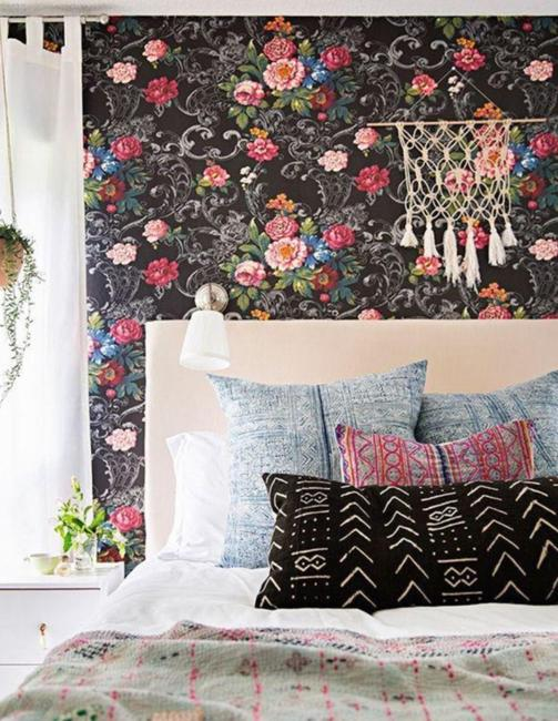 room decorating with bright colors
