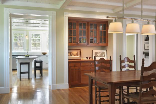 Classic Dining Room Design And Decorating Built In Storage Cabinets
