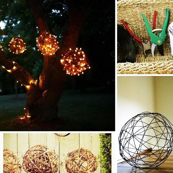Recycling For DIY Outdoor Lights, 15 Creative Outdoor