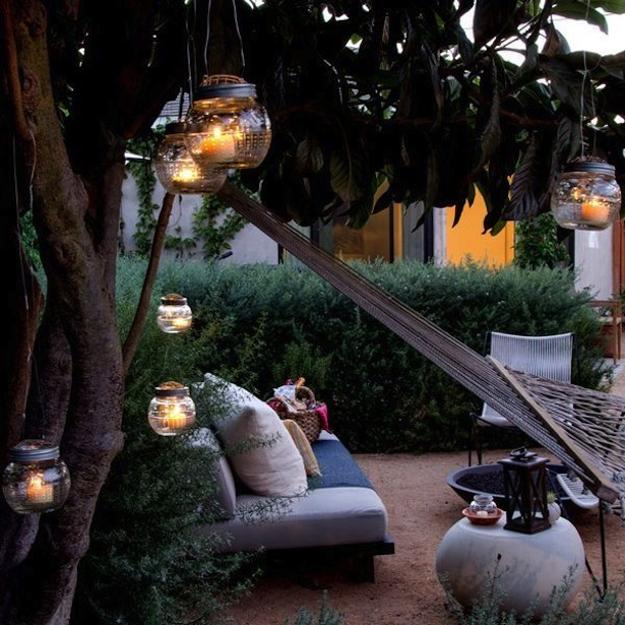 10 Creative Ideas For Outdoor Stairs: Recycling For DIY Outdoor Lights, 15 Creative Outdoor