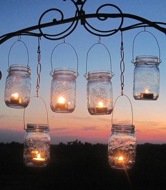 Diy Lighting Ideas: Recycling For DIY Outdoor Lights, 15 Creative Outdoor