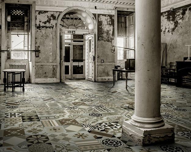 patchwork floor tile designs
