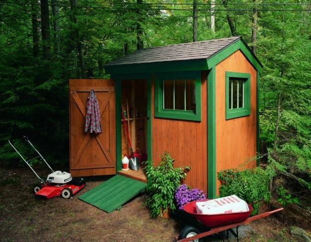 Small Garden Sheds Great Outdoor Storage Solutions And
