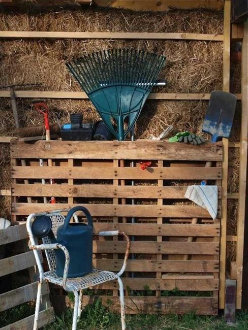 storage ideas and organizing tips for garden shed