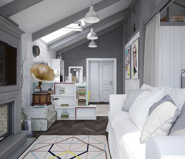 Girls Bedroom Design And Decorating Turning Attic Into